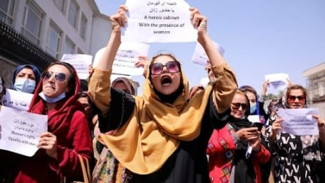 Afghan women brave Kabul streets to demand rights
