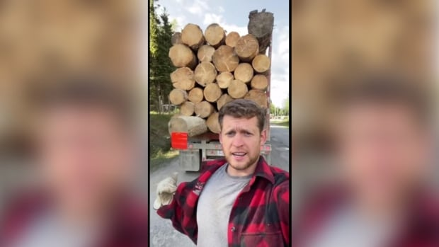 Merritt truck driver finding fame on <b>TikTok</b> with insights into his life and work - CBC.ca thumbnail