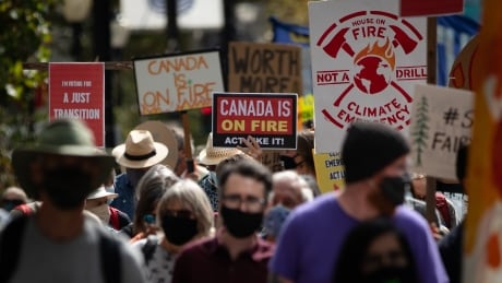 CANADA ON FIRE PROTEST