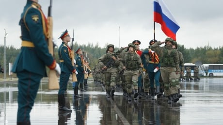 Russian troops at Zapad