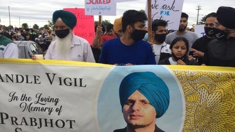Prapjhot Singh vigil