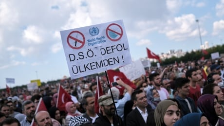 HEALTH-CORONAVIRUS/TURKEY-PROTESTS