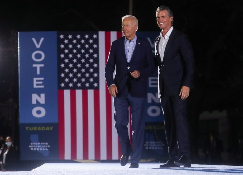 , Gov. Gavin Newsom fights for his job in high-stakes, expensive California recall election | CBC News,