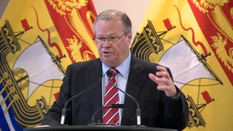 Public Safety Minister and Attorney General Ted Flemming