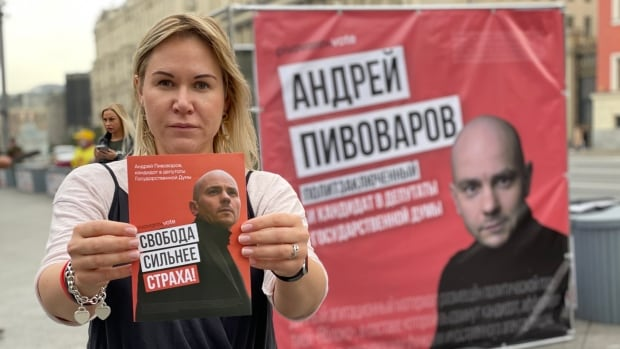 With little chance of winning,Russia's hobbled opposition using election to highlight abuses