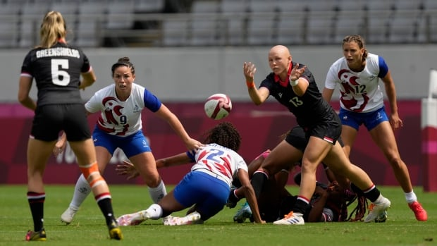 Canadian rugby 7s squads enter World Series with eyes on future   CBC Sports