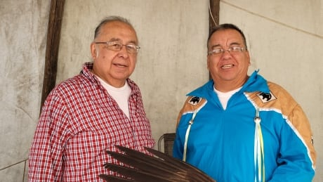 Clarence Nepinak and Arthur Mckay