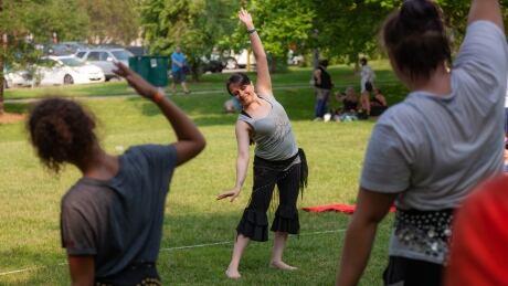 Belly dance instructor Luna