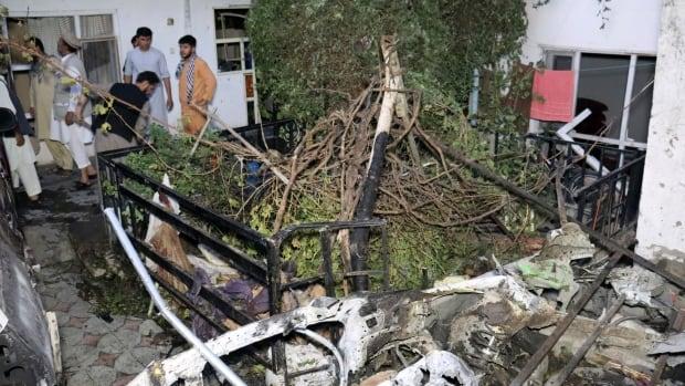 Afghan survivors of erroneous U.S. drone strike that killed 10 seek investigation   CBC News