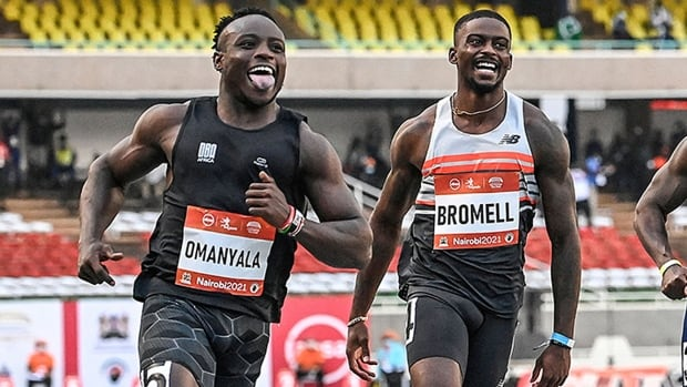Bromell runs world-leading 9.76 seconds to win 100m after Olympic disappointment   CBC Sports