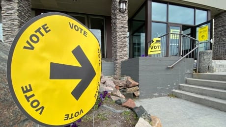 Polling station Yellowknife