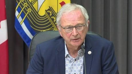 Premier Blaine Higgs, Sept. 20, 2021