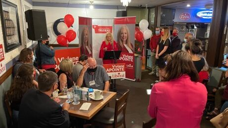 Viviane Lapointe election night