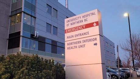 university hospital of northern b.c.