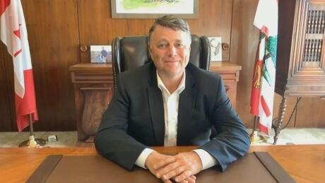 P.E.I. Premier Dennis King, still from interview w CBC News Sept 21, 2021