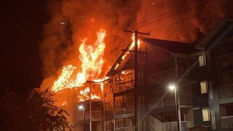 1400 Pacific fire in Brandon