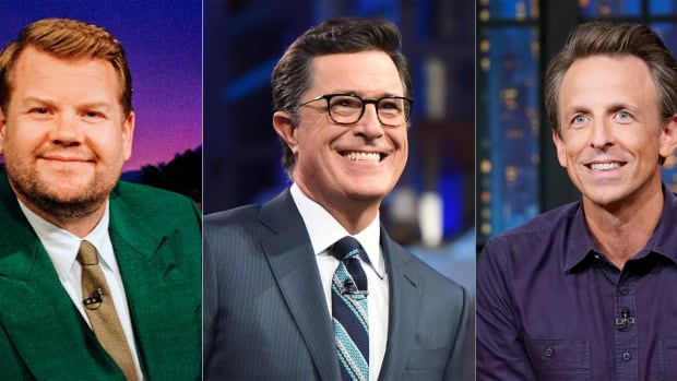 Late-night talk shows put competition aside for joint focus on climate change