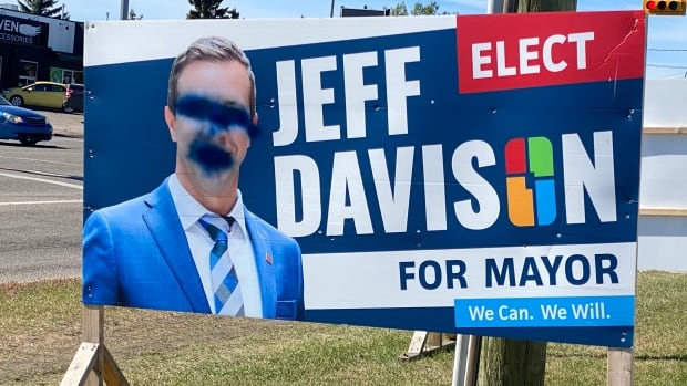 Calgary mayoral candidate plagued by online threats, office vandalism after council remarks | CBC News