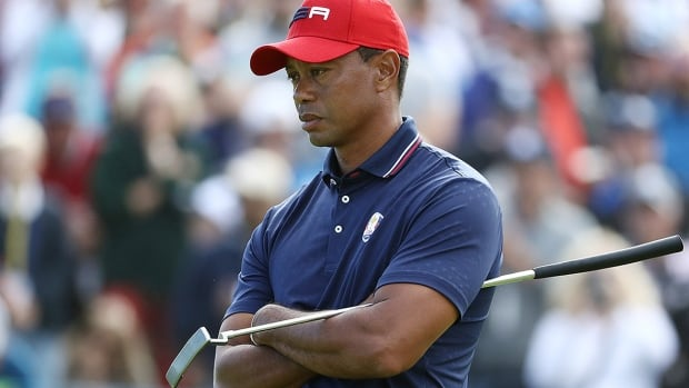 Tiger Woods' text message spurs American teammates at Ryder Cup