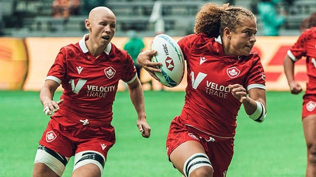 Canadian women eke out tie with No. 2-ranked Americans at Edmonton rugby 7s event