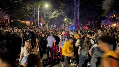 Jennings Street gathering