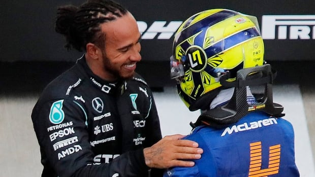Lewis Hamilton wins Russian Grand Prix to notch historic 100th F1 victory | CBC Sports