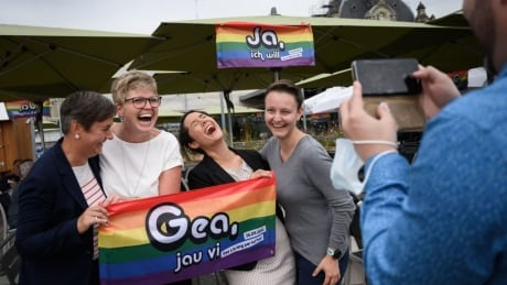 Swiss voters back same-sex marriage and adoption by clear majority