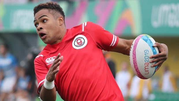 Josiah Morra lifts Canada's men to rugby 7s semifinal against Great Britain   CBC Sports