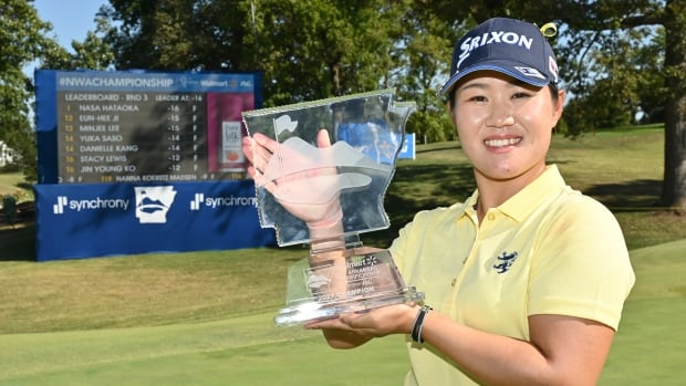 Nasa Hataoka of Japan wins Northwest Arkansas Championship by a stroke | CBC Sports