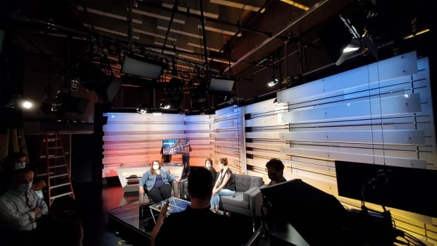 Behind-the-Scenes of the new studio   CBC