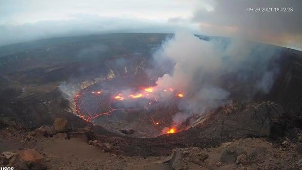 Hawaii's Kilauea volcano erupts — but no sign lava will flow near homes