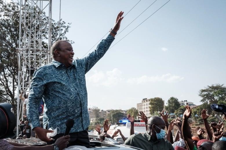 uhuru kenyatta president of kenya