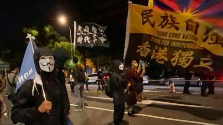 Taiwan Anti-China Protest