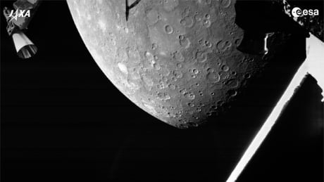 Space Mercury Flyby