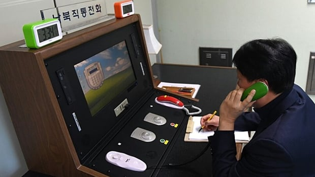 South, North restore inter-Korea hotline in small reconciliation step