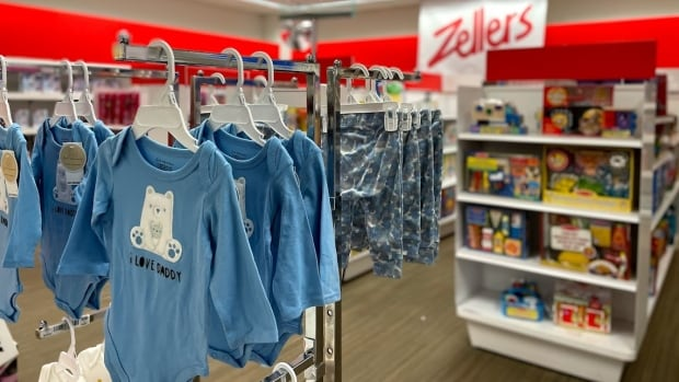 Quebec retailing family sued by HBC for improper use of Zellers brand name | CBC News
