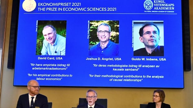 Canadian-born David Card among 3 winners of Nobel in economics