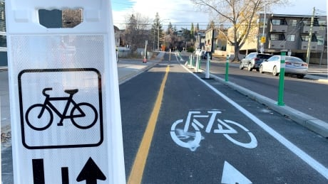 12th Ave cycle track