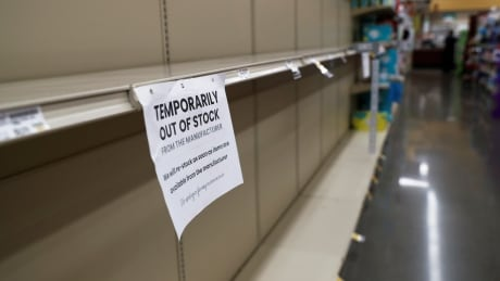 empty shelves retail supply chain