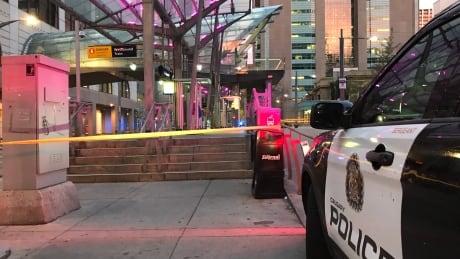 downtown violent assault ctrain