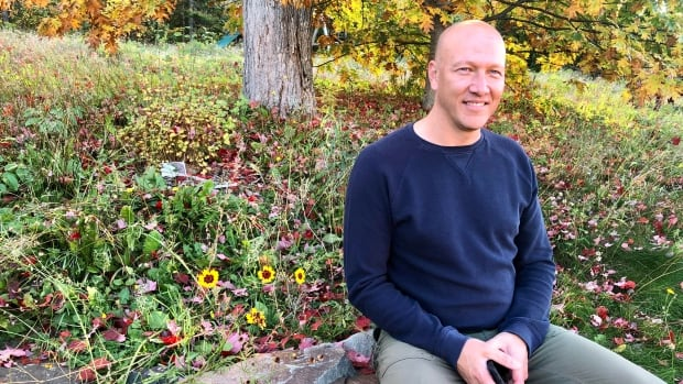 Fredericton man 'gives back to nature' with bee and butterfly oasis in his yard