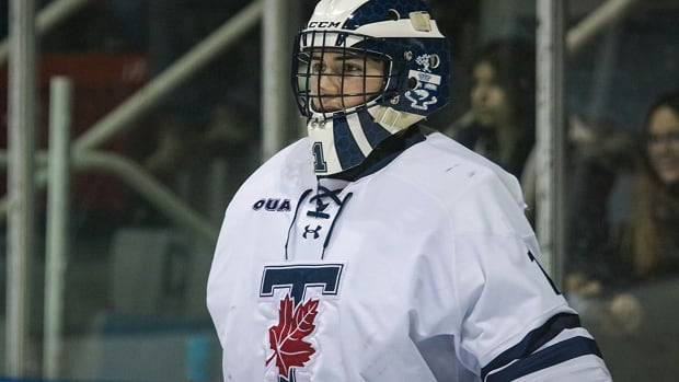 Why did the Leafs sign a university goalie as a backup for Saturday night?