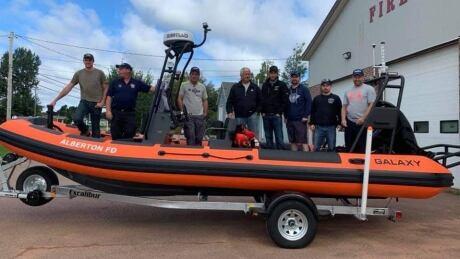 Alberton search and rescue boat 3