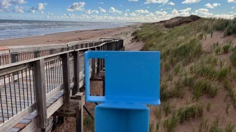 Coastie stand Brackley Beach 2