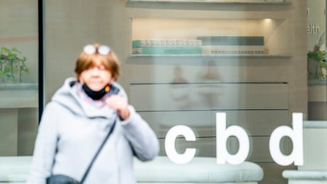 CBD store on Queen Street West in Toronto, Ontario Canada on October 20, 2021.Carlos Osorio for The CBC
