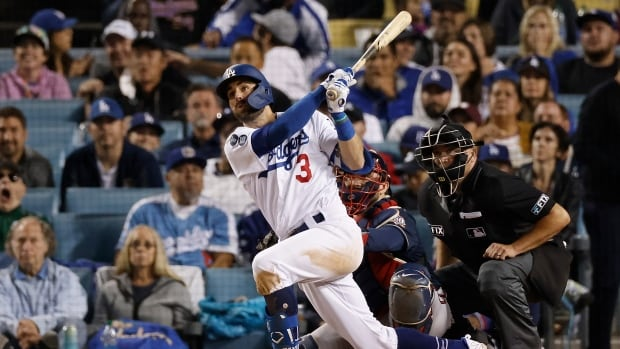 Taylor's historic night helps Dodgers fight off elimination in dominant win over Atlanta