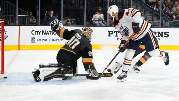 Oilers remain undefeated, handing Golden Knights 3rd consecutive loss