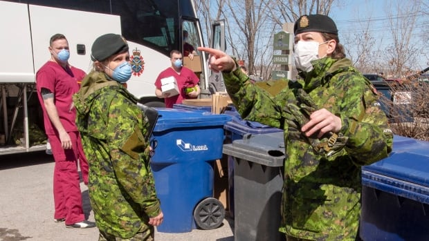 Canadian Forces personnel to help Saskatchewan with COVID-19 crisis | CBC News