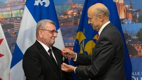 Quebec City mayor Régis Labeaume awarded French Legion of Honour