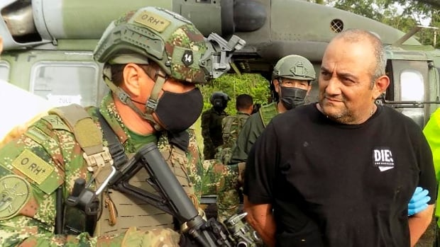 Colombia's most wanted drug lord captured in jungle raid | CBC News